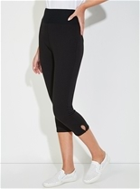 Crop Wide Waist Leggings