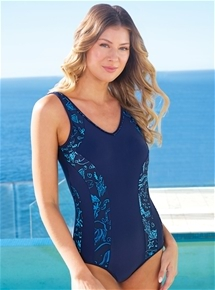 Floral Insert One Piece