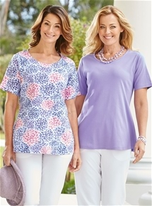 2 Pack Tunic Tops