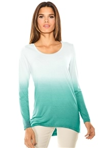 Mint Ombre Top