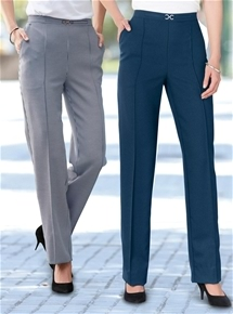 2 Pack Trousers Short Length