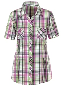 Classic Check Blouse