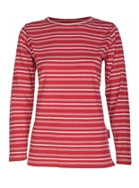 Long Sleeve Stripe Crew Tee