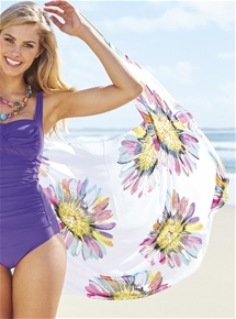 Tropical Beach Sarong