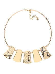 Snake Collar Necklace