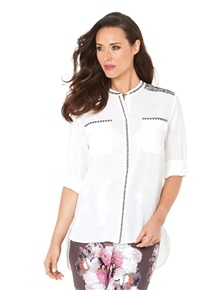 Bermuda Embroidered Blouse