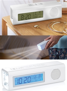 Alarm Clock Torch Radio