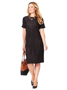 Travel Plisse Dress