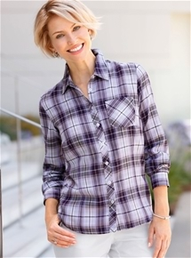 Pretty Check Blouse
