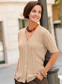 Lacy Knit Cardigan