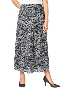 Graphic Leaves Skirt