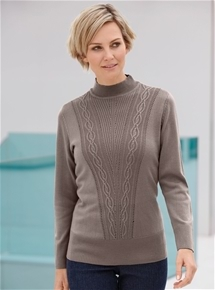 Knot Detail Long Sleeve Sweater
