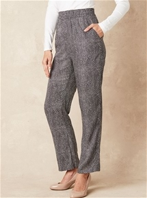 Printed Relaxed Pants