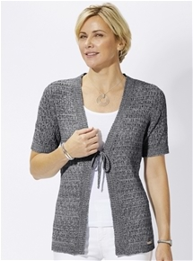 Tie Knit Cover up