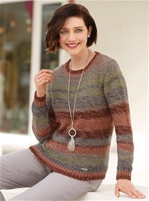 Autumnal Stripe Sweater