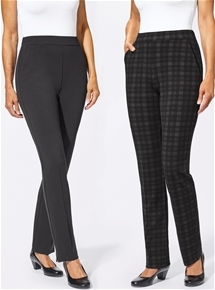 Two Pack Knit Pants