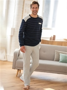 Men's Stripe Jersey PJ's*
