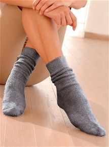 Thermolactyl Terry Jersey Knit Knee Socks