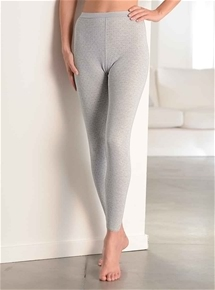 Brushed Fancy Knit Long Pants