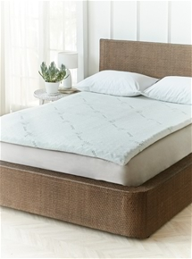 Bamboo Cover & Cool Gel Mattress Topper