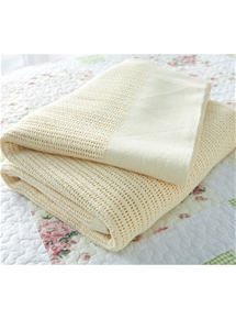 Cotton Cellular Blanket