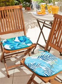 Tropical Outdoor Chair Pads