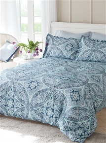 Grace Sky Quilt Cover Set