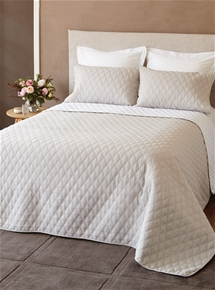 Reversible Windsor Embossed Coverlet Set