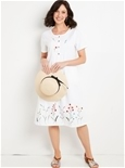 Embroidered Border Dress_15A28_0