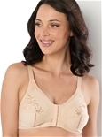 2 Pack Front Fastening Embroidered Bras_15B54_0