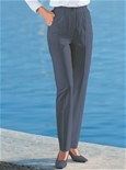 Stretch Waist Button Trousers_17R31_1