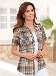 Classic Check Blouse_18R86_2