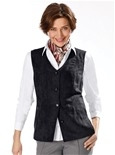 Suedette Button Vest_19Q73_2