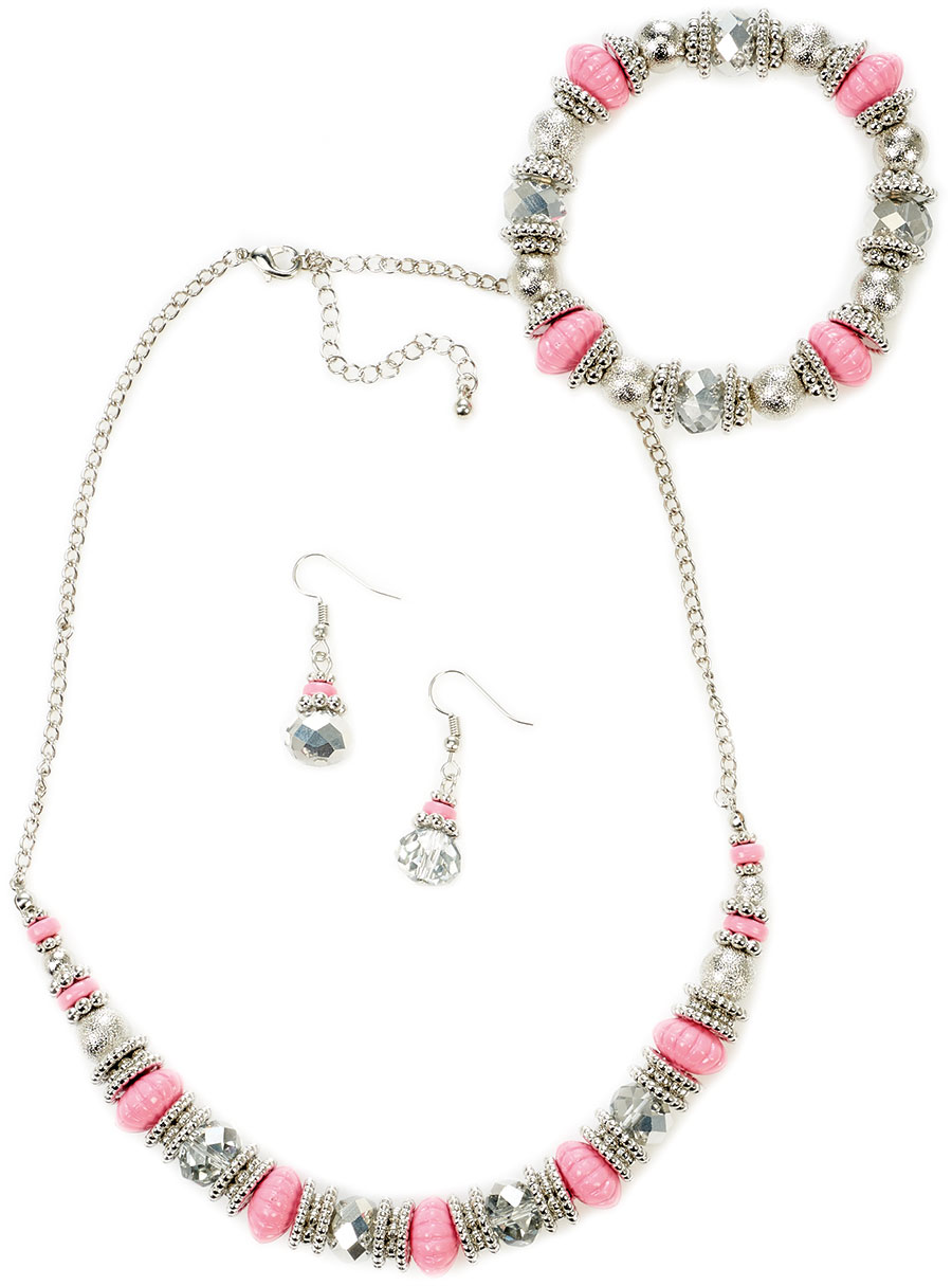 Necklace, Bracelet & Earring Multipack Mint Fits All