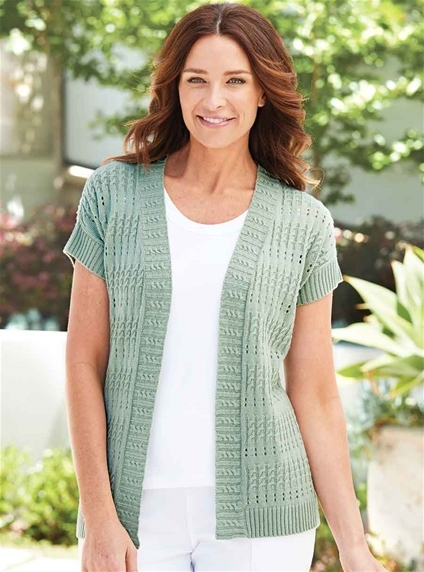 Fancy Knit Cardi