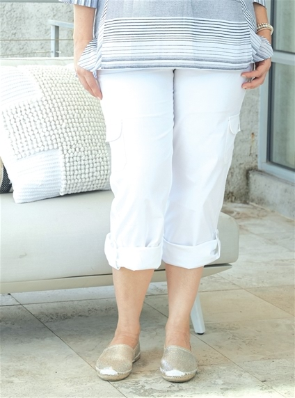 Stretch Convertible Cargo Pant [PLUS SIZE]