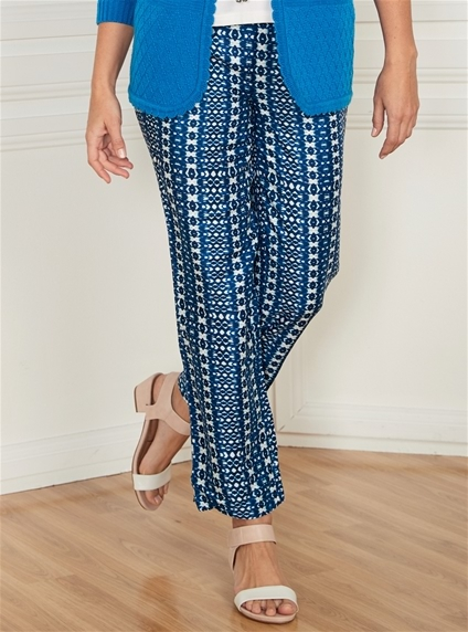 Printed Anywear Pants