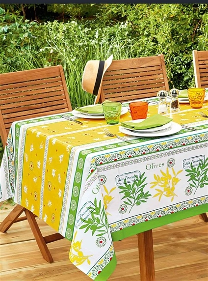 Free Gift - Large Outdoor Printed Tablecloth